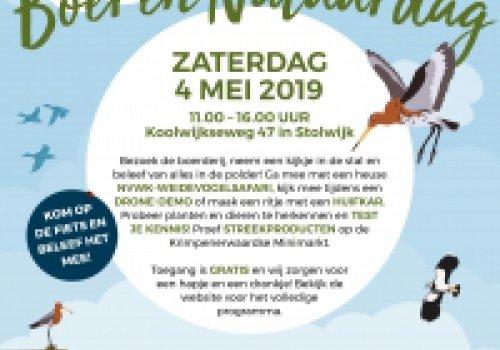 Weidehof Boer en Natuurdag zaterdag 4 mei 2019