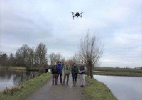 Drone voor het zoeken naar weidevogelnesten